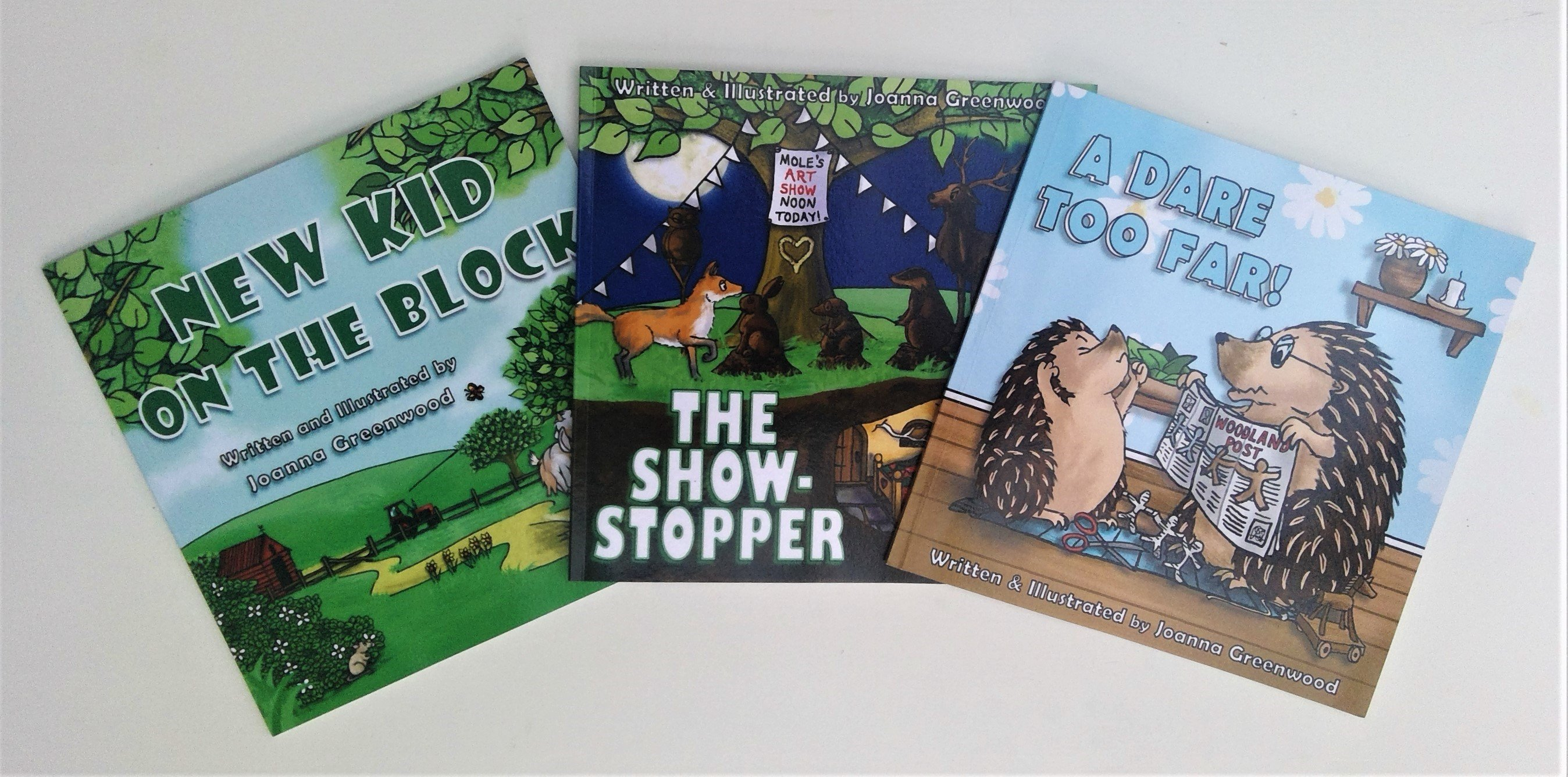 The 'Yew Tree Woodland Tales' Trilogy